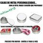 Cajas De Metal Personalizadas,regalos,souvenirs + Tu Diseño