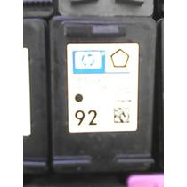 Cartucho Remanu Hp 92 C9362w Hp C3180 1510 5440 C3140 1570