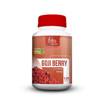 Goji Berry Original 100% Pura E Natural 120 Cápsulas 500mg