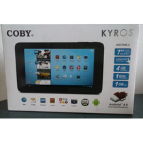Tablet Coby Kyros Mid7048-4 De 7 Pulgadas. Nueva