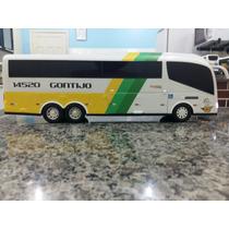 Miniatura De Ônibus Gontijo (50 Centímetros) Com Luz.
