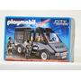 Playmobil N°6043 Camioneta De Transporte Policia