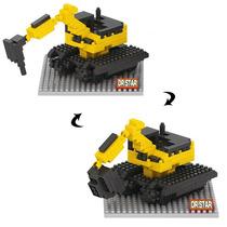Camion De Construcción 2 En 1 Miniblocks