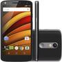 Celular Smartphone Motorola Moto X Force Preto 21 Mp 2.0 Ghz