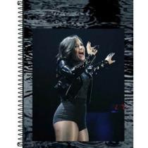 Caderno Combo Justin Beiber +demi Lovato 1 Materia