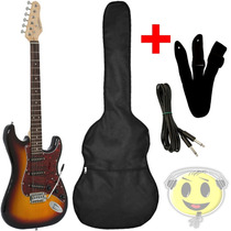 Guitarra Giannini G-100 Strato Standard +kit Brinde Kadu Som