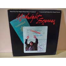 Lp Trilha Sonora - Midnight Express (imp - Usa - 1978)