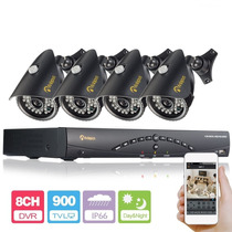 Camara De Seguridad Anlapus 8ch 960h Hdmi Dvr Realtime Netwo