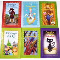 6 Cuentos Infantiles, Paquete Prncipito,mago Oz Alicia Pais