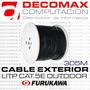 Bobina Cable Furukawa Exterior 100% Cobre Rollo Utp 305mts