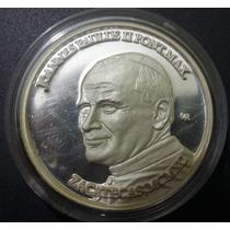 Medalla Visita Del Papa A Zacatecas