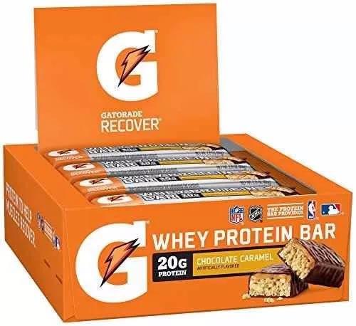 8b377ac95 Gatorade Recover Barra De Proteína Caja 12 Barras -   899.00 en Mercado  Libre