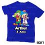 Lembrança De Aniversário Patati Patatá Camiseta Infantil