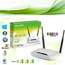 Router Inalambrico Tp-link Tl-wr841n 300mbps Doble Antena