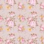 Papel De Parede Adesivo Floral Rosas - X4adesivos (paf102)