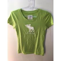 Camiseta Blusa Abercrombie & Fitch Media Feminina Tshirt