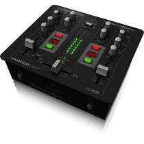 Mesa De Som Mixer Dj Behringer Vmx 100 Usb 2 Canais Novo
