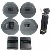 Chicote Vidro Elétrico Gol G4 4 Portas Completo Automatizado