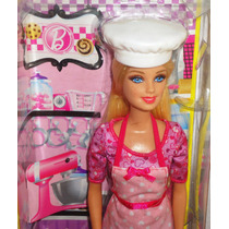 Juguetibox: Barbie Quiero Ser Chef De Galletas