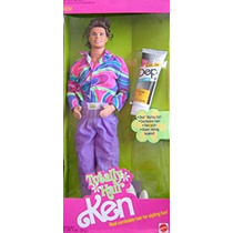Juguete Barbie Ken Totalmente Pelo Ken Muñeca (1991)