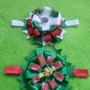 Lazos Bandanas Diademas Tocados De Navidad Para Ninas