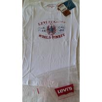 Linda Camiseta Feminina Branca Levi´s,original,barato!!