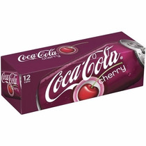 Coca Cola Cherry Sabor Cereja Caixa 12 Latas 355ml Coke Eua