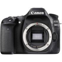 Câmera Canon Eos 80d Dslr - Corpo