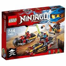 Educando Lego Ninjago Ninja Bike Case 70600 Construcción