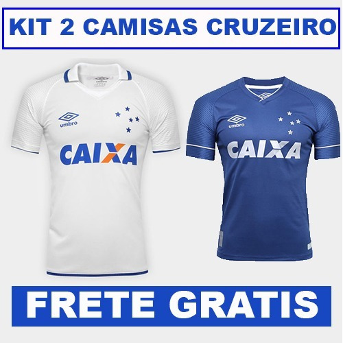 0f664e8f79 Kit Camisas Cruzeiro 2018 Original Torcedor - Frete Grátis - R  120
