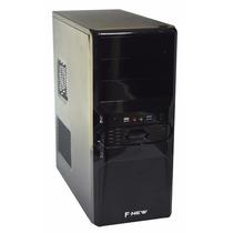 Cpu Completa Nova 4gb Hd500 Wifi Monitor Lcd 19 #maisbarato