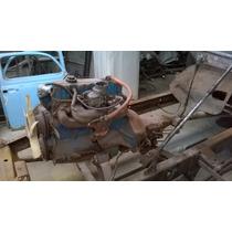 Motor - Caixa Seca E Cambio Opala 4 Cil.