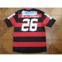 Camisa Flamengo Jogo Bmg Branco 26 E. Flores P