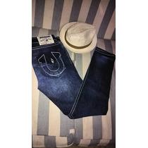 Pantalon - Jeans Marca True Religion Talla 32 Seccion Skinny