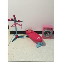 Juguete Para Niñas Set De Lavadora Mesa De Planchar Usado