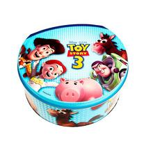 Lata Decorada Infantil Toy Story Disney Decorativa 2 Un.