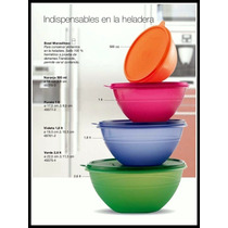 Tupperware Set De Bowl Maravilloso X 4