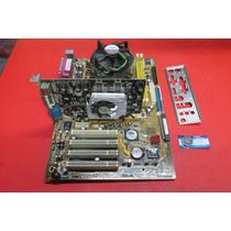 Placa Mãe Asus P5vd2-x 775 Com Espelho Vídeo Processador
