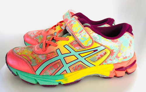 8c41580a5 Zapatillas Asics Gel Kids Niños Con Velcro (33) -   1.200
