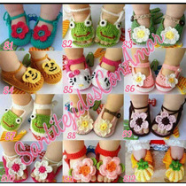 Sandalias Y Zapatos Tejidos Para Bebes