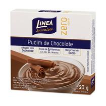 Pudim Adocado Com Sucralose Linea Sabor Coco Com 25 Gramas