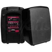 Bafle Recargable 8 Pulgad Entradas Usb Sd Y Bluetooth Xaris.
