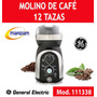 Molino De Cafe 12 Tazas Aspas De Acero Inox General Electric