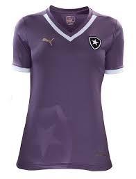 Camiseta Feminina Botafogo Roxa  Rosa (personalizada) - R  75 5a80ef49dfb5a