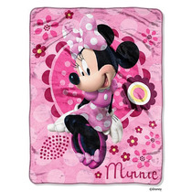 Disney Minnie Bowtique Minnie Bouquet Micro Raschel Banda