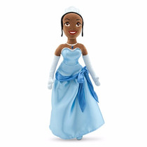 Tiana Princesa Y Sapo Disney Store Juguete Peluche