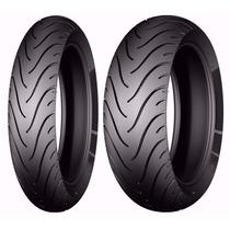 Aro Roda Par Pneu 110/70-17 + 140/70-17 Michelin Cb300