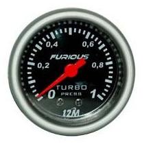 Boost Pressure 1k Ou 2k De 52mm + Kit Instalação Carro Turbo