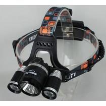 Lampara Cabeza Led 5000lm, Rappel, Escalada, Alpinismo, Bici