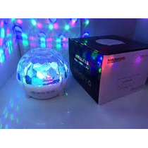 Esfera Bola Bluetooth Led Portatil Giratoria. Mp3 - Usb - Fm